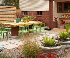 patio. Wonderful Patio Backyard Patio Transformation For Better Homes And Gardens