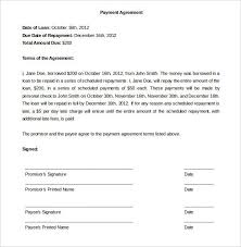 Payment Plan Template Payment Agreement Template Payment Agreement How To Plan