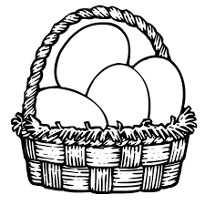 Small Picture Picnic Basket Coloring Page Cartoon Clipart Of A Black And