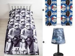star wars bedroom set single duvet set 54inch multi colour curtains philips