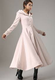 long winter coats fit and flare coat pink coat maxi coat long coat