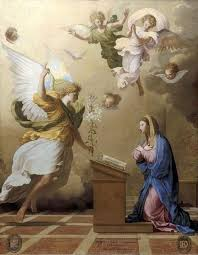 Image result for picture of angel talking to elizabeth of Bible