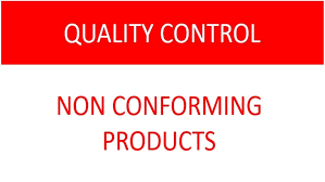 Control Of Nonconforming Product Flow Chart Iso 9001 Standard Control Of Nonconforming Product