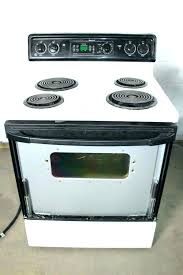 glass replacement amazing kitchen surface electric oven ran stop working repair replace intended for top stove