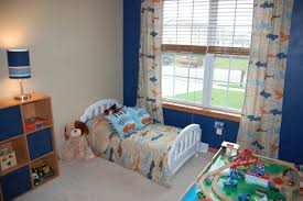Little Boys Bedroom Furniture Lovely Boys Bedroom Ideas With Blue Wall Contemporary Bedroom
