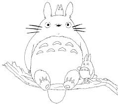 Small Picture My Neighbor Totoro Coloring Pages Coloring beach screensaverscom