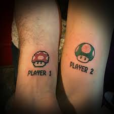 Player One Player Two Tattoo
