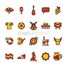 1571354 spanish festival set of spain icons