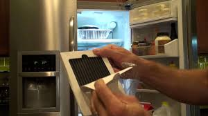 Fridge Filters Change A Frigidaire Refrigerator Air Filter Youtube