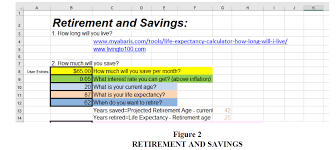 Retirement 101 Using Retirement Planning With Excel To