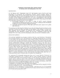 governance papers categories workshoponunsystemwideworkshopreport