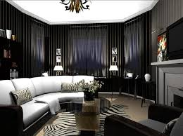deco living room. Delighful Deco Dark Furnishings And Moody Lighting Turn This Room Into A Brooding  Masculine Living  With Deco Living Room