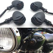 Bullet Lights For Harley Davidson Us 19 25 28 Off Yecnecty 4 X Motorcycle Turn Signal Indicator Light For Harley Davidson Cafe Racer Bullet Steel Motorbike Flashers For Cruiser On