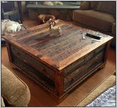 Charming Creative Of Square Rustic Coffee Table With Tables Nice Look
