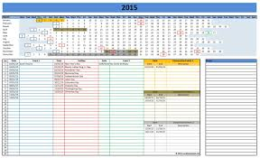 Excel Calendar Schedule Calendar In Excel Format Barca Fontanacountryinn Com