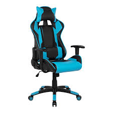Light Blue Gaming Chair Office Gaming Chair Hm1072 08 Black Light Blue Color