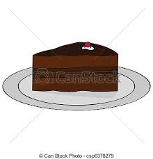 piece of chocolate cake clipart. Simple Chocolate Chocolate Cake  Csp6378279 In Piece Of Cake Clipart L