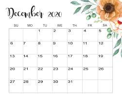 December 2020 Calendar Wallpapers ...