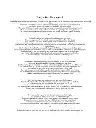 Sample Funny Best Man Speeches. How To Write A Best Man's Speech ...