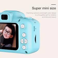 Đồ Chơi Máy ảnh kỹ thuật số mini 2.0 inch 1080P có 3 màu cho bé + Thẻ Nhớ  4G - 8G