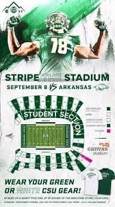 Csu Canvas Stadium Seating Chart Arkansas At Colorado State Live Blog Real Time Updates From