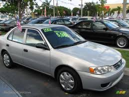 2002 Toyota Corolla CE in Silverstream Opal - 600269 | Jax Sports ...