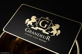 <b>Gold Metal</b> Business <b>Cards</b>