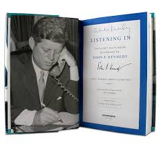 kennedy oval office. LISTENING IN \u2013 Never Before Heard Recordings Of President Kennedy In The Oval Office. Used By Permission: John F. Presidential Library And Museum Office