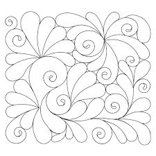 Anne Bright Designs Feathered Swirls
