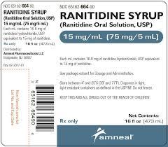 Ranitidine Syrup Ranitidine Oral Solution Usp 15 Mg Ml