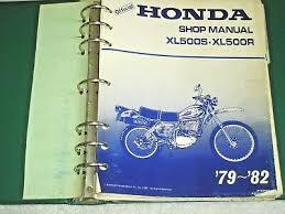 1979 1982 honda xl500s xl500r xl xr 500