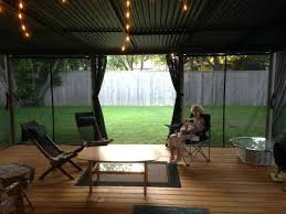 outdoor privacy curtains porch patio for
