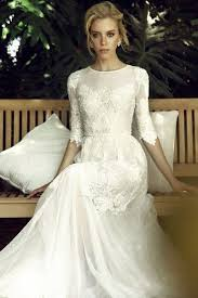 your guide to choosing the perfect modest wedding dress mywedding