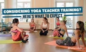 a yoga teacher