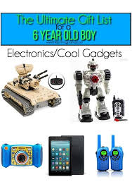 great gift ideas for electronics 6 year old boy