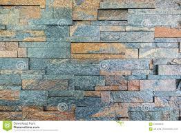 Oranje En Grijze Bakstenen Muur Voor Behang Oppervlakte Textuur