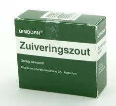 zuiveringszout in bad