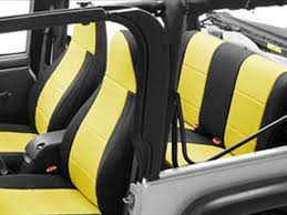 jeep seats stay clean with coverking neoprene seat covers