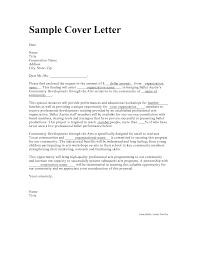 cover letter starting new career