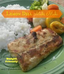 Lemon Dill Mahi Mahi Recipe