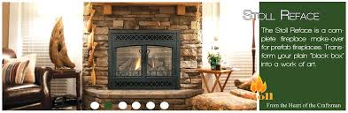 stone fireplace glass doors wood burning insert in l on fireplace cover ideas much prettier than