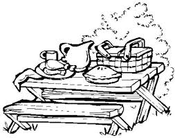Small Picture Picnic Coloring Page Bebo Pandco