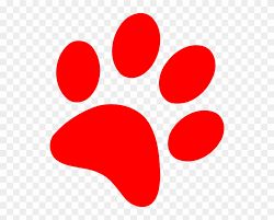 red dog paw clipart. Plain Paw Wildcat Paw Clip Art  Red Dog Print With Clipart