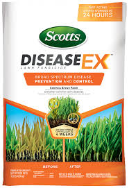 Brown Patch Disease Scotts Diseaseex Lawn Fungicide Scotts