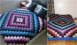 Granny Square Blanket Pattern Custom Around The World Granny Square Blanket Free Crochet Pattern Your