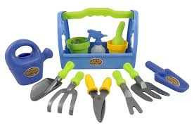 childrens gardening tools. Photo 5 Of 10 Amazon.com: Little Garden Tool Box 14pc Toy Gardening Tools Set For Kids: Childrens G
