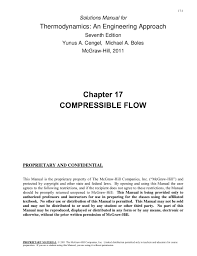 17-1 Solutions Manual for Thermodynamics: An Engineering Approach ...