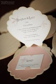 Sea Shell Wedding Invitations Sea Shell Shaped Invitations Adorable For An Under The