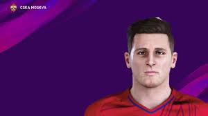 Adolfo Gaich CSKA Moscow face PES 2020 - YouTube