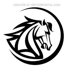 tribal horse head clip art. Perfect Art 20 Horse Head Vectors  Download Free Vector Art U0026 Graphics  123Freevectors Throughout Tribal Clip
